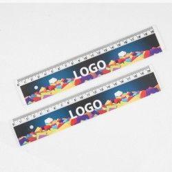 Linijka 20cm Transparentna UV